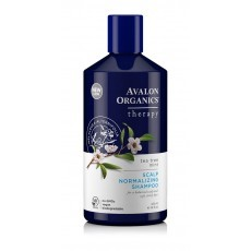 Avalon Organics Therapeutic Shampoo: Нормализующий шампунь для волос с маслом чайного дерева и мяты (Scalp Normalizing Therapy Tea Tree Mint Shampoo), 414мл
