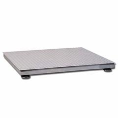 Весы платформенные MAS PM4P-1000-1212, LCD, АКБ, 1000кг, 200гр, 1200х1200, RS-232 (опция), стойка (опция), с поверкой, выносной дисплей