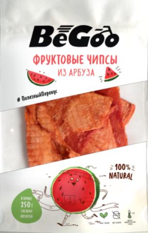 Фруктовые чипсы из арбуза «BeGoo», без сахара 25 г