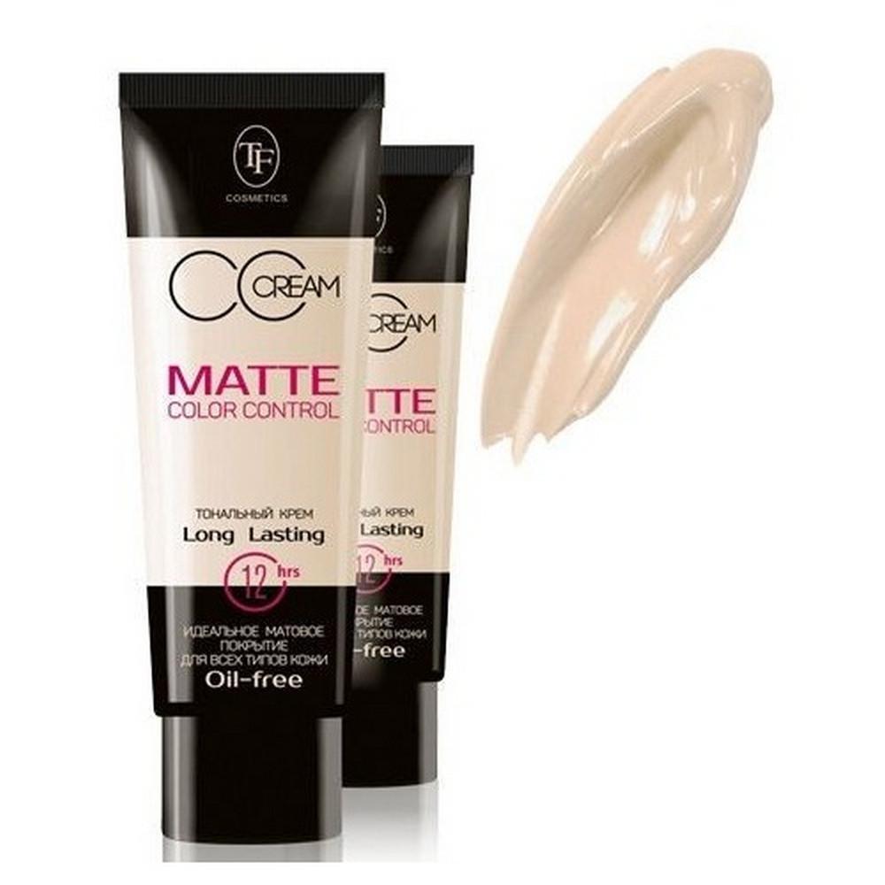 Тональный крем для лица матирующий  Matte Color Control