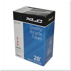 """Велокамера 28"""" XLC 1 1/8 1,75 велониппель 32 мм"""