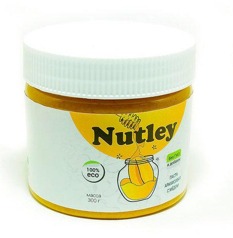 Nutley паста арахисовая с мёдом  300г
