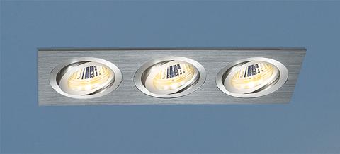 Алюминиевый точечный светильник 1011/3 MR16 CH хром