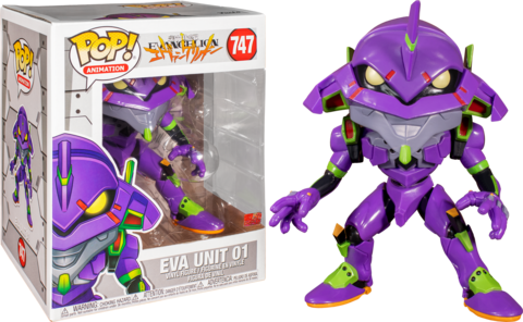 Evangelion Eva Unit-01 Oversized Funko Pop! Vinyl Figure || Ева Юнит-01
