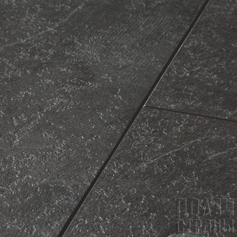 ПВХ-плитка Quick-Step QS LIVYN Ambient Click AMCL 40035 Сланец чёрный