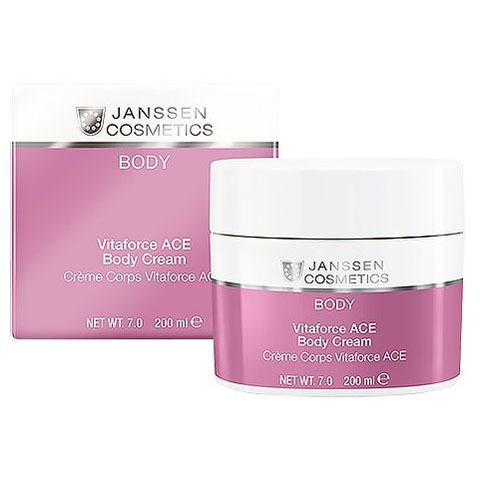 Janssen Body: Насыщенный крем для тела с витаминами A, C и E (Vitaforce ACE Body Cream)