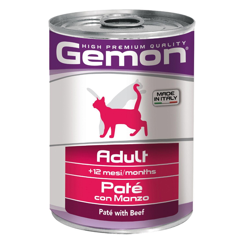 Gemon Консервы для кошек Gemon Cat паштет говядина 70299961_1.jpeg