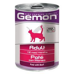 Консервы для кошек Gemon Cat паштет говядина