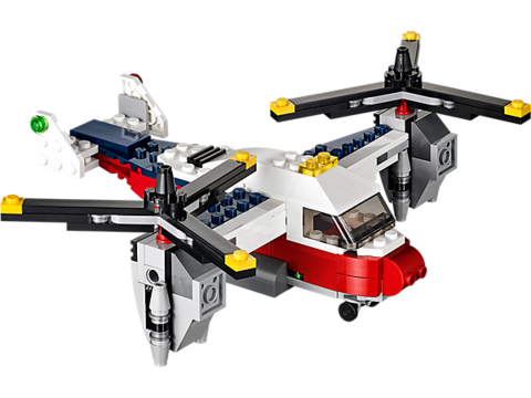 LEGO Creator: Приключения на конвертоплане 31020 — TwinBlade Adventures — Лего Креатор Создатель Созидатель