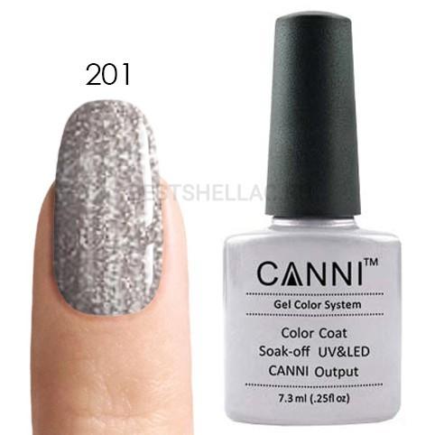 Canni Canni, Гель-лак № 201, 7,3 мл 201.jpg