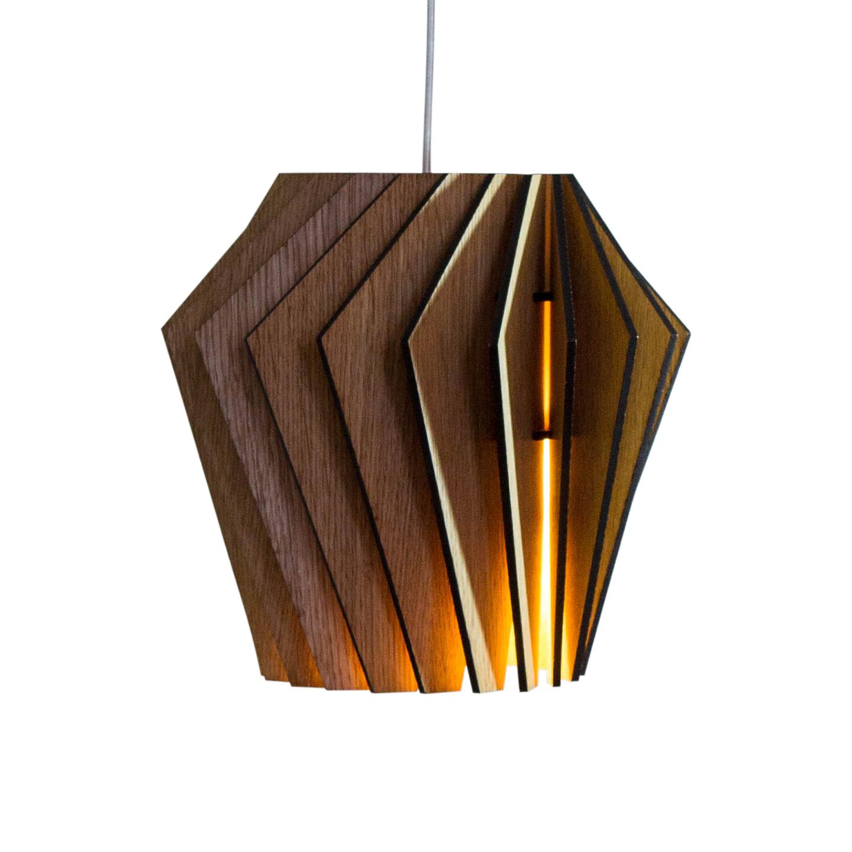 Подвесной светильник Woodled Турболампа, средний - вид 4