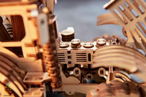 Трактор от Wood Trick - Деревянный конструктор, сборная модель, 3d пазл