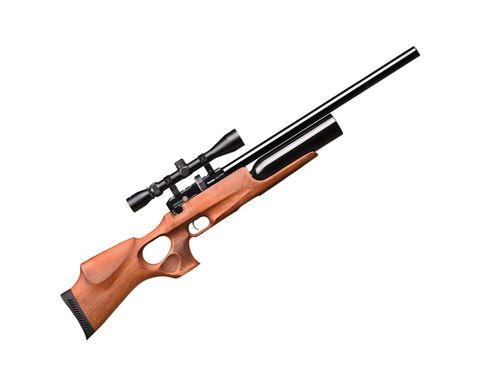 Puncher. maxi.3 к.4,5мм орех Auto с оптикой (3-9х40) (пневматическая PCP винтовка)