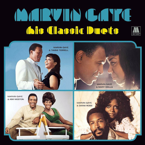 Marvin Gaye / His Classic Duets (LP)