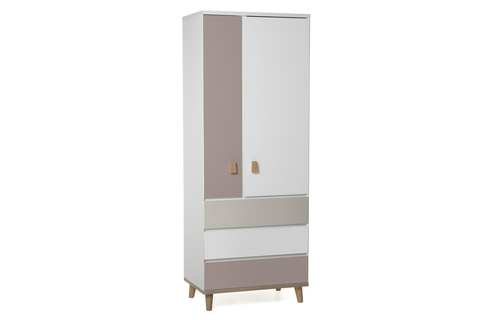 Шкаф LX 33 (розовый антик)