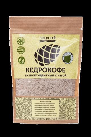Кедрокофе Антиоксидантный с чагой, без сахара 90г
