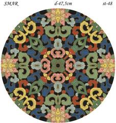 Эскиз для росписи, Круг диаметр-47,5см, SMAR-st-48