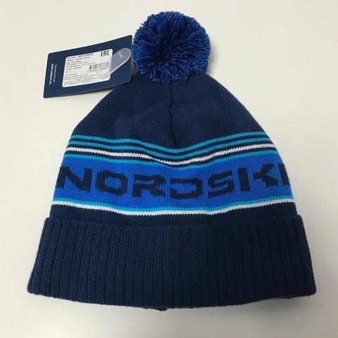 Шапка Nordski Stripe Dark blue