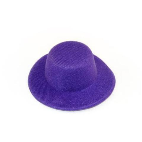 Шляпа  для игрушек фиолетовая 5,5см