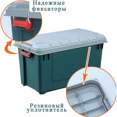 Экспедиционный ящик IRIS RV Box 700, уплотнитель.