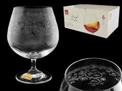 Набор бокалов для коньяка и бренди «Европейский декор», фото 2