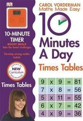 10 Minutes A Day Times Tables, Ages 9-11 (Key Stage 2)