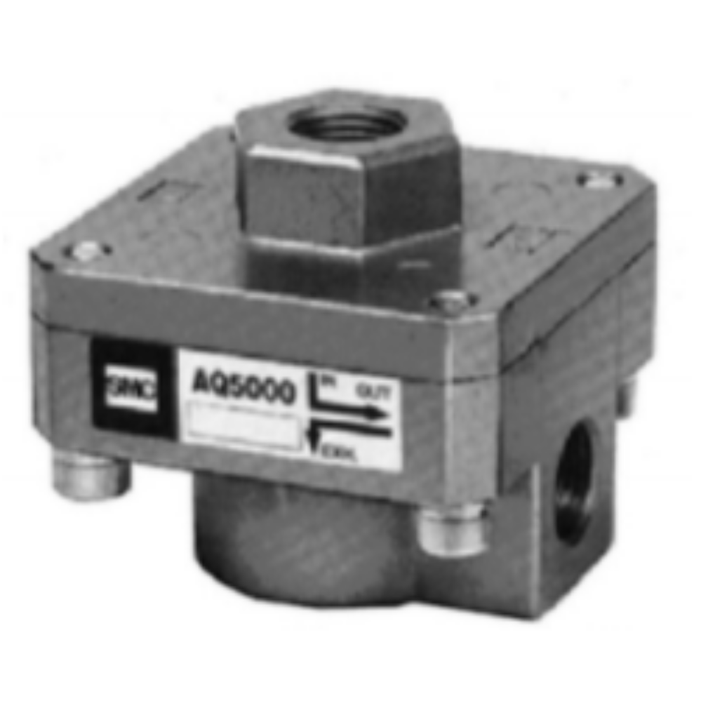 EAQ5000-F04  Клапан быстрого выхлопа, G1/2