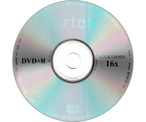 Диски Artex DVD+R 4,7 GB 16x Bulk/50 (CMC)