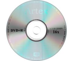 Диски Artex DVD+R 4,7 GB 16x Bulk/50 (CMC)
