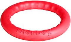 Игрушка для собак игровое кольцо для аппортировки d 28 розовое, PitchDog 30