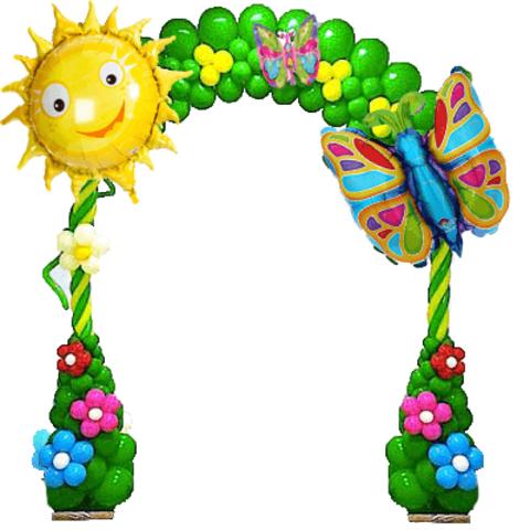 Арка Яркая весна