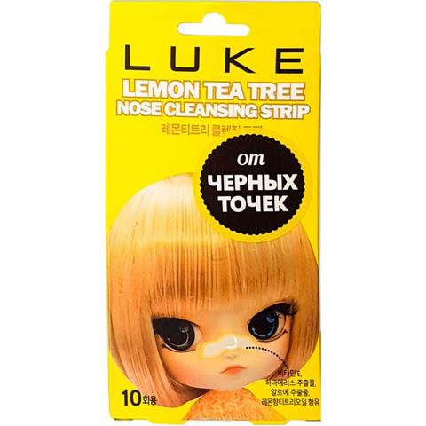 Полоски от черных точек с экстрактом лимона и чайного дерева 1 шт