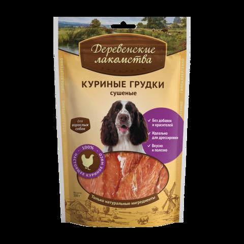 Деревенские лакомства Лакомство для собак куриные грудки сушеные