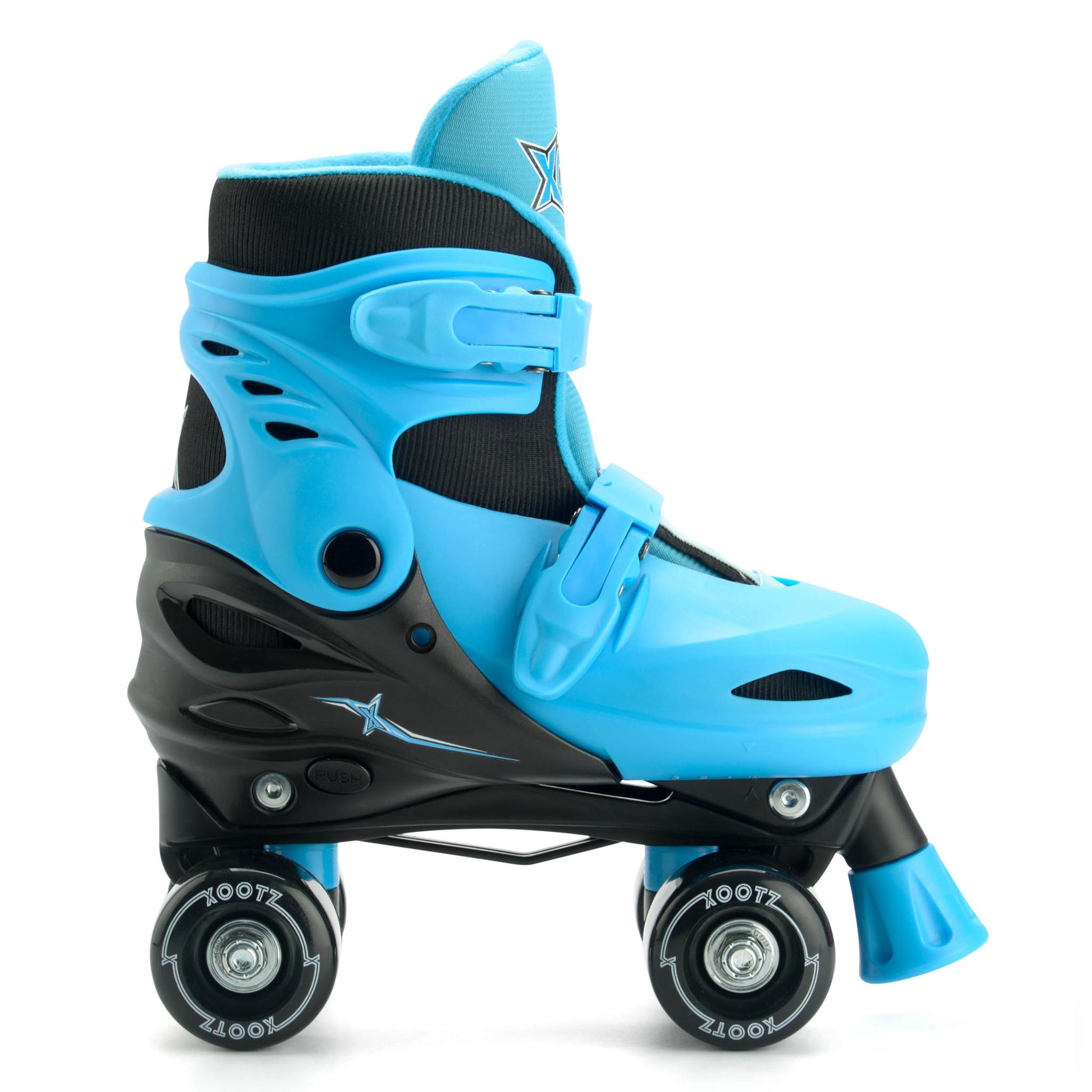 TY6064 xootz quad skates blue