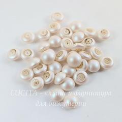 5817 Хрустальный жемчуг Сваровски (кабошон) Crystal Pearlescent White 8 мм