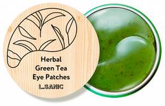 L.Sanic Herbal Патчи под глаза гидрогелевые с экстрактом зеленого чая