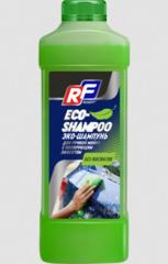 10372N RUSEFF ЭКО - ШАМПУНЬ для ручной мойки с полирующим эффектом (1л)