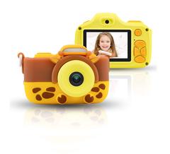 Детский цифровой фотоаппарат Жираф ZOO KIDS со вспышкой