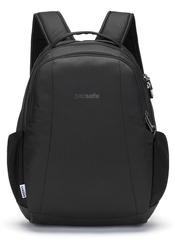Рюкзак антивор Pacsafe Metrosafe LS350, черный econyl, 15 л. - 2