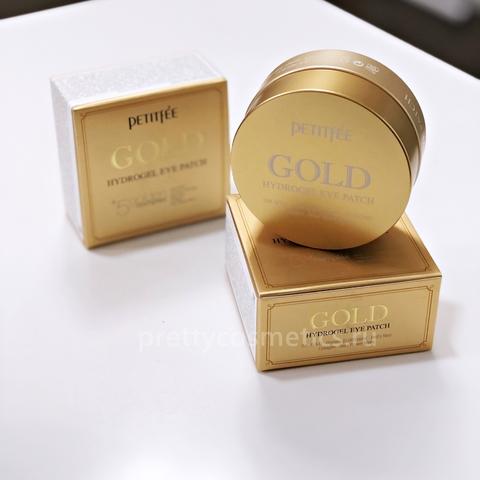 Petitfee Гидрогелевые патчи с золотом Gold Hydrogel Eye Patch 60 шт