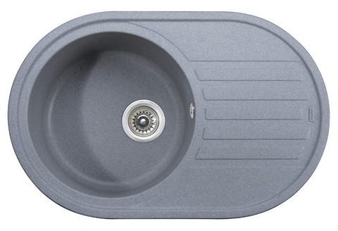 Кухонная гранитная мойка Kaiser KGM-7750-G серый