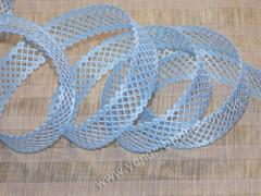 Лента-сеточка голубая ширина 22 мм