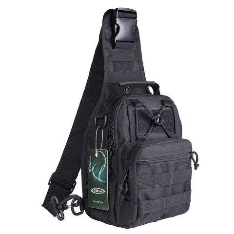 Тактический однолямочный рюкзак G4Free D04V Черный
