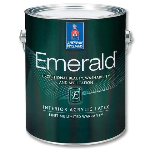 Краска Emerald Flat LOW VOC