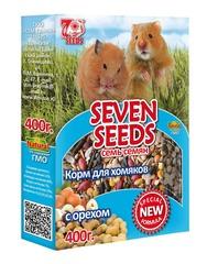 Корм для хомяков с орехом Seven Seeds Special