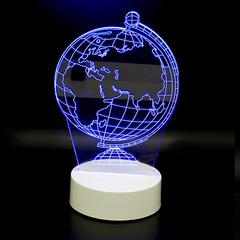 3D светильник Глобус