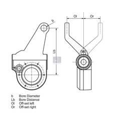 Трещетка тормозная   Регулятор зазора, автоматический, сторона установки левая   replaces Haldex: 80176  Подходит:  MAN TGA/TGL/TGM/TGS/TGX  Вид эксплуатации - автоматически  зазубрено слева [мм] - Ol56 привод, зубчатая передача - N - 42 x 1,5 Расстояние между отверст. (мм) - Lb145 Число зубцов - 26