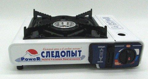 Газовая плита Следопыт Power (с переходником) PF-GST-M01