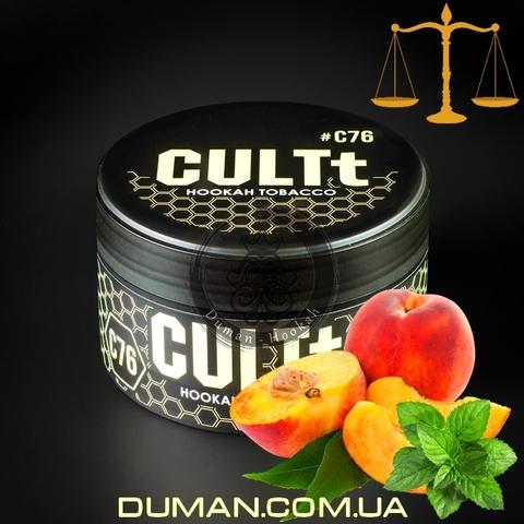 Табак CULTt C76 Peach Mint (Культ Персик Мята) |На вес 25г