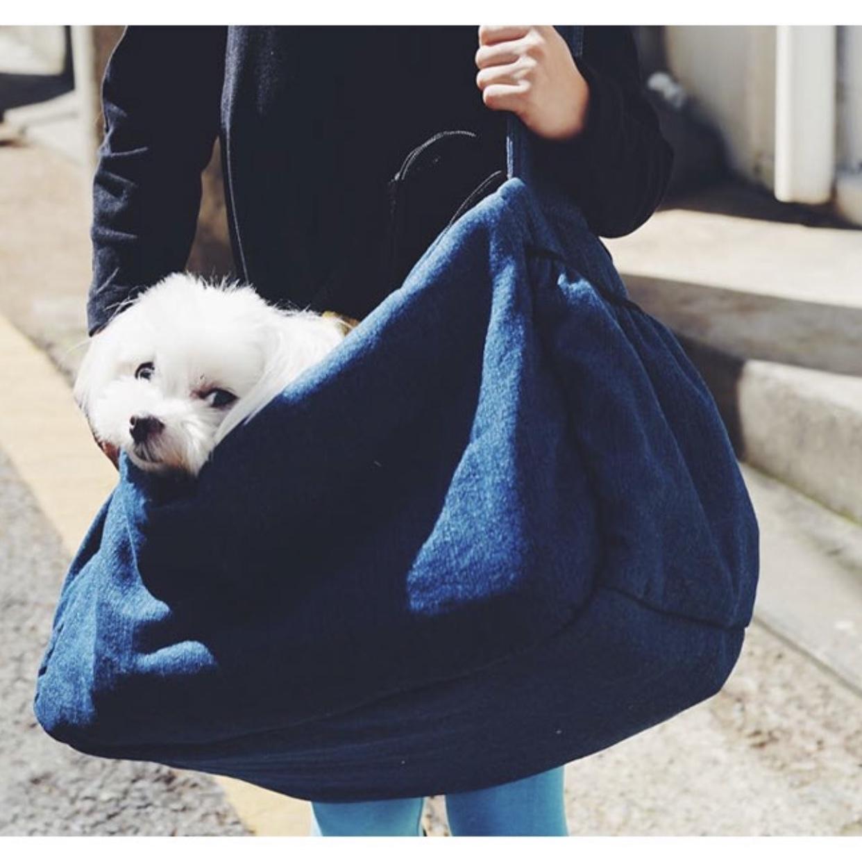 сумка слинг для собак мелких пород